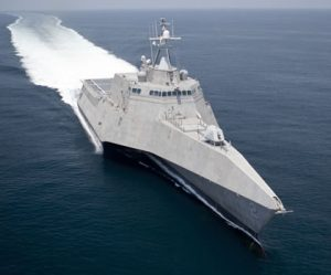 Littoral Combat Ship at Sea
