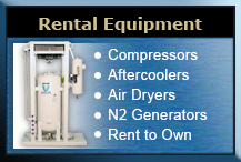 Rental Equipment Available from The Titus Company