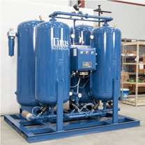 Titus compressed air system