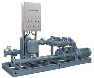 Customized pumping station for industrial and commercial applications