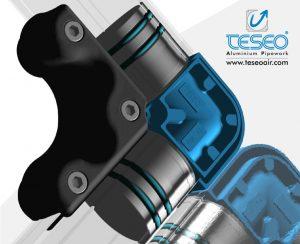 Teseo aluminum pipework