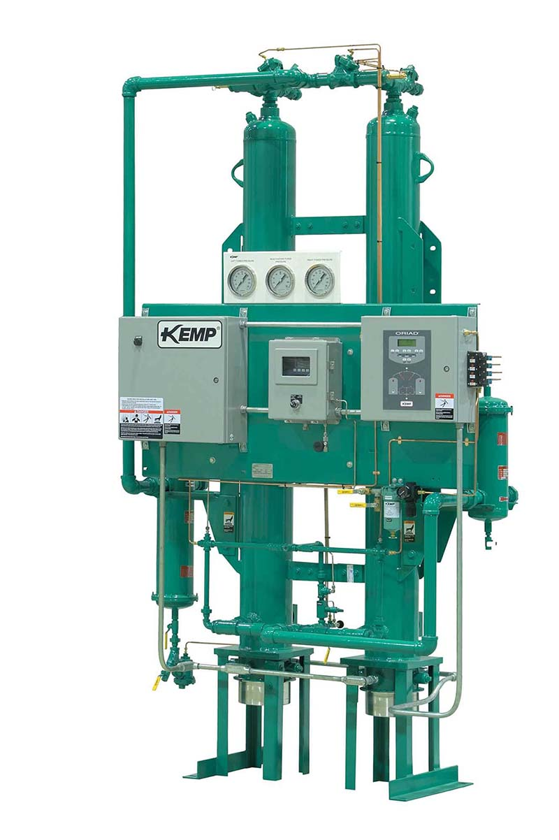 Kemp Oriad series internally heated reactivated dryer