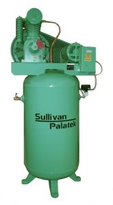 Sullivan-Palatek lubricated air compressor