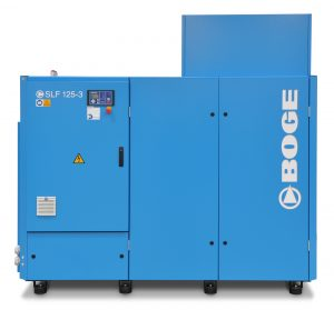 BOGE SLF Series VFD (30 – 270 HP) Rotary Screw Compressor