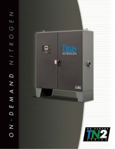 The Titus Company TN2 Series On-Demand Nitrogen Generation