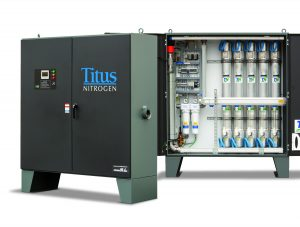 Titus Air TN2 Series On-Demand Nitrogen Generator