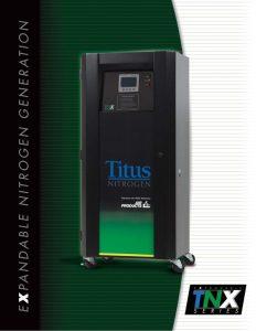 The Titus Company TNX Series Expandable Nitrogen Generation