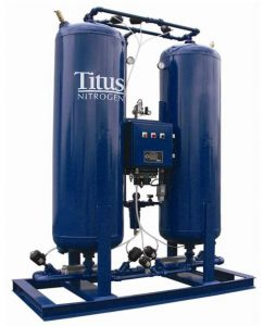 Titus Air System Pressure Swing Adsorption Nitrogen Generator