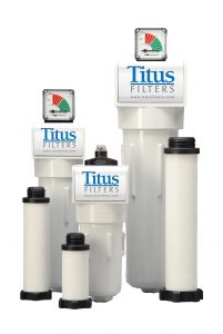 Titus Air System Filters