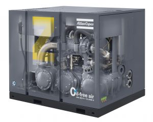 Atlas Copco Rotary Screw oil-free compressor