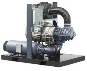Atlas Copco ZS series oil-free rotary screw blower