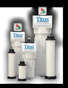Titus Air filters