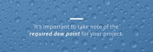 The required dew point will help inform which air dryer will be best for your application