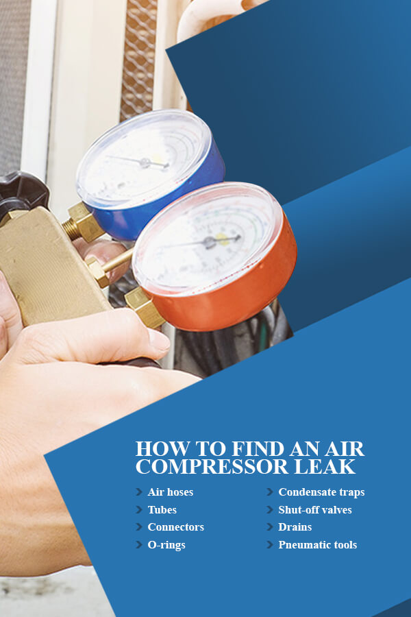 How to Find an Air Compressor Leak