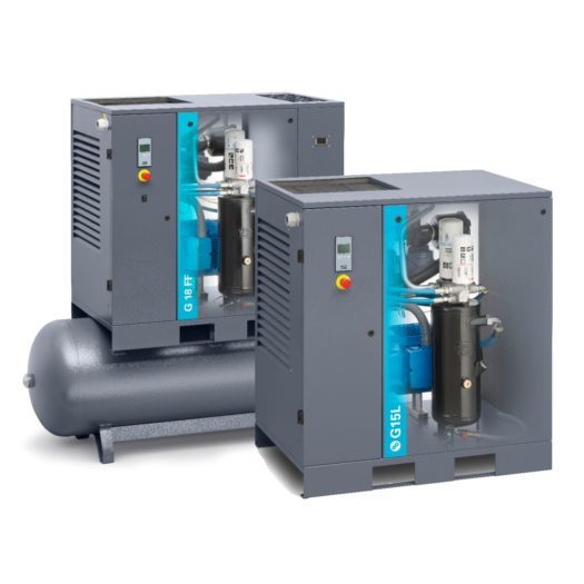 Atlas Copco - Lubricated Rotary Screw Compressor - GX Series