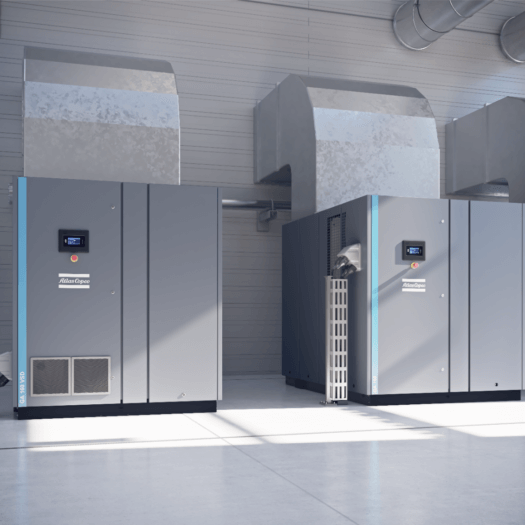 Atlas Copco - GA VSD Series Installed