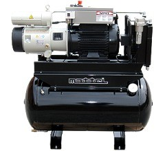 Mattei Lubricated Rotary Vane ERC Series 5-100 hp Air Compressors