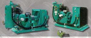 Sullivan Palatek Line Shaft LSC Series Rotary Screw Compressor
