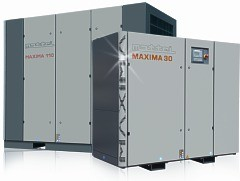 Mattei Lubricated Rotary Vane Air Compressors Maxima Series