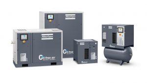 Atlas Copco Oil-Free Scroll Compressor - SF Series Options