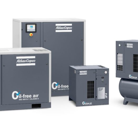 Atlas Copco Oil-Free Scroll Compressor - SF Series Options