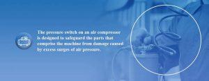 The components of an air compressor regulator