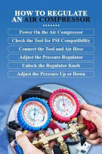 How to regulate an air compressor