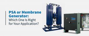 psa or membrane generators