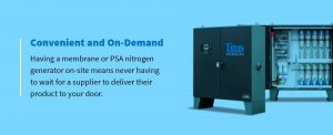 benefits of onsite generators