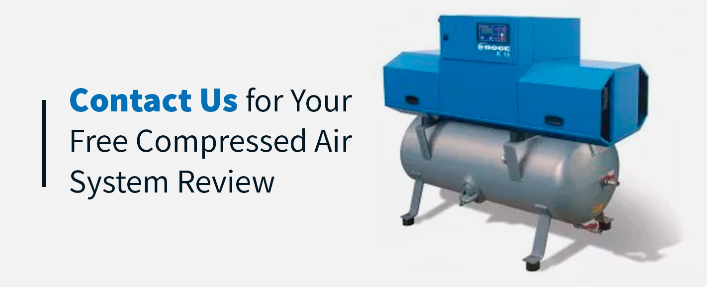 Contact The Titus Company for a free compressed air system review