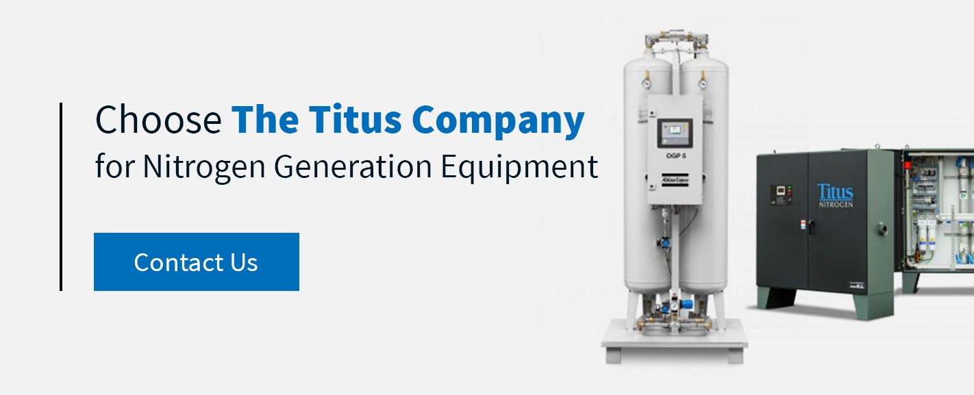 nitrogen generation equipment from Titus Company