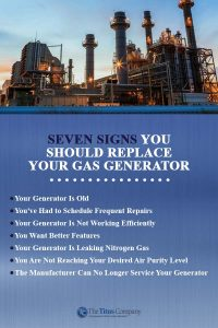 7 signs to replace gas generators