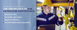 gas generator maintenance importance