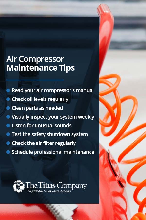 Air Compressor Maintenance Tips
