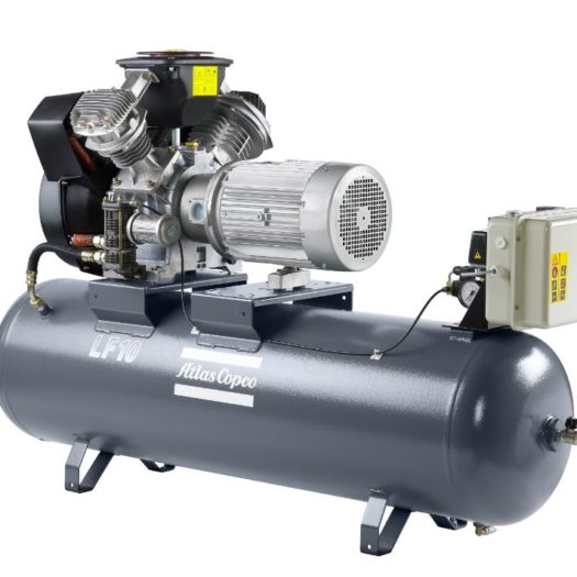 Atlas Copco Oil-Free Reciprocating Air Compressors LF Piston Compressor