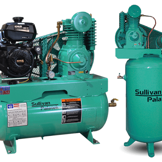 Sullivan-Palatek Lubricated Reciprocating Air Compressors