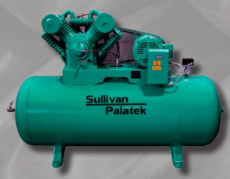 Sullivan-Palatek Lubricated Reciprocating Air Compressors SPHT Series