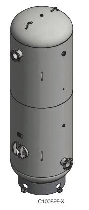 SPVG Large Vertical Tanks