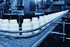 pharmaceutical bottling production line