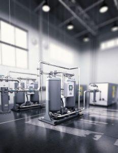Atlas Copco Desiccant Dryers XD Series