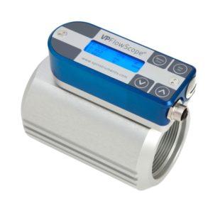 VP Instruments Air Compressor Monitoring Equipment VPFlowScope in-line flow meter