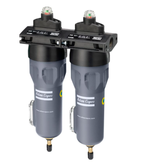 Atlas Copco Compressed Air-Line Filters DD:PD Series Air Filters