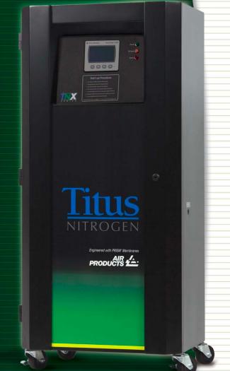 Titus Membrane Nitrogen Generators - TNX Series