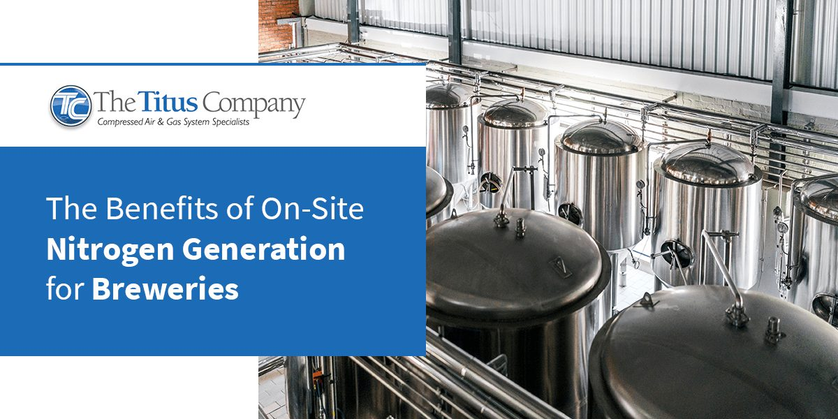 The Benefits of On-Site Nitrogen Generation for Breweries