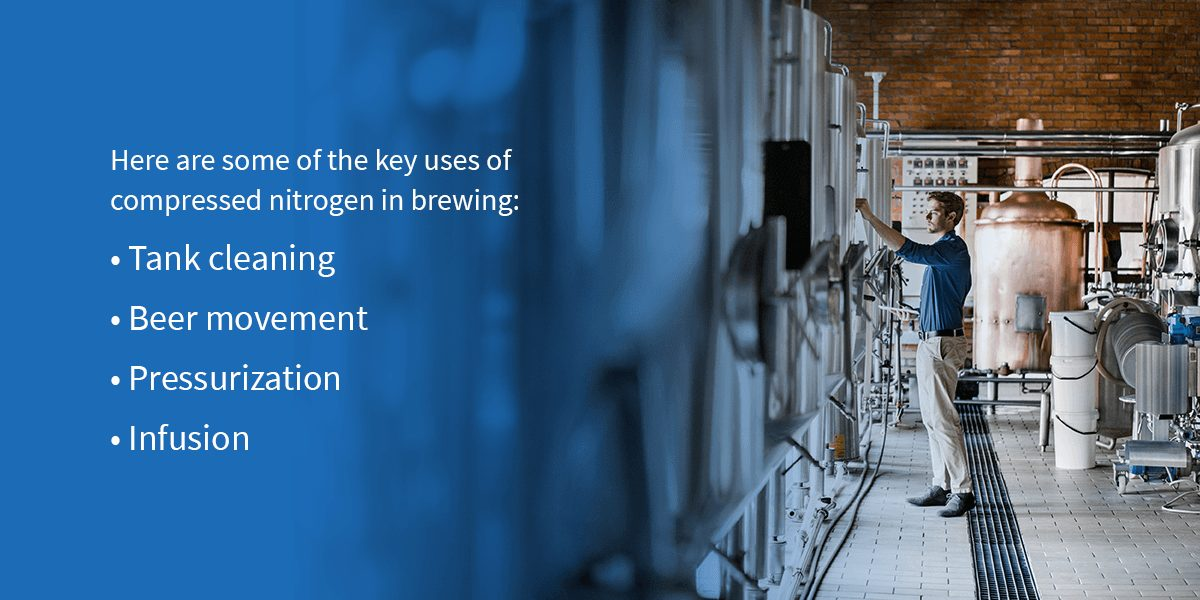 How Breweries Use Compressed Nitrogen