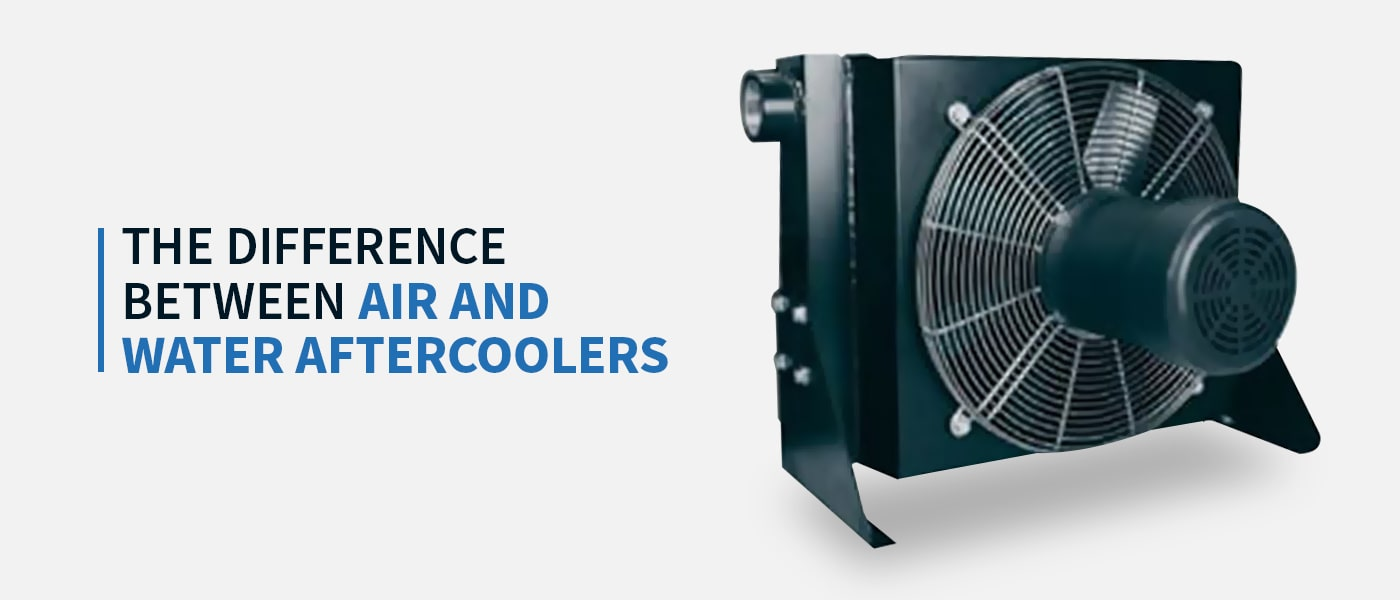 The Difference Between Air and Water Aftercoolers