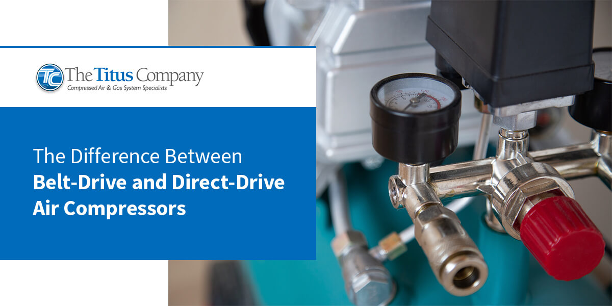 The Difference Between Belt-Drive and Direct-Drive Air Compressors