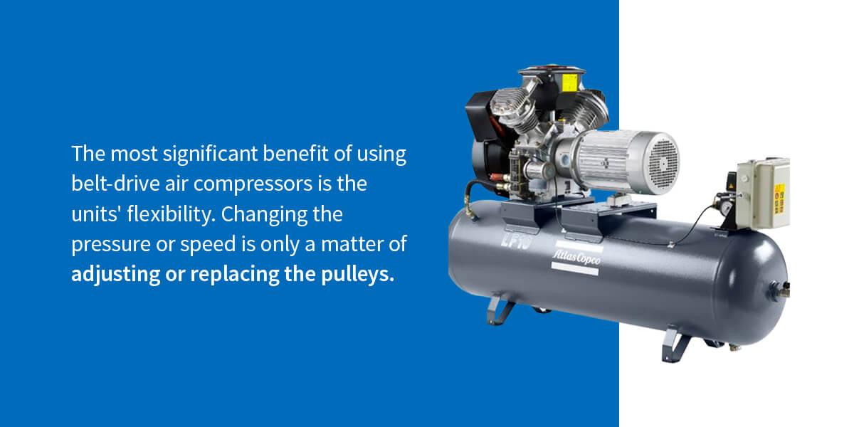 Pros of Belt-Drive Air Compressors