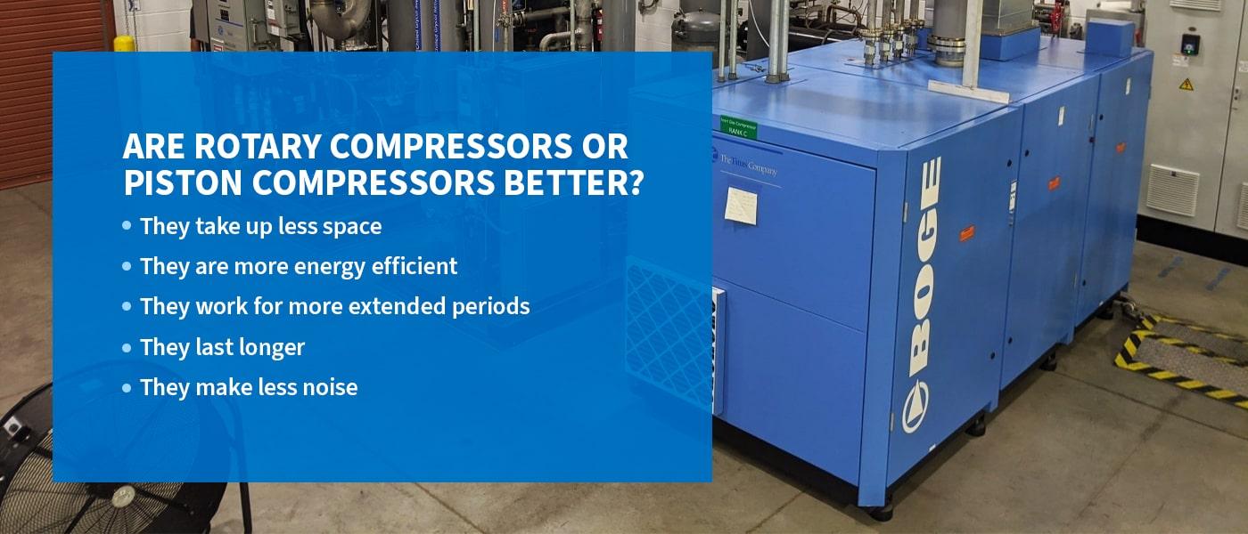 Are Rotary Compressors or Piston Compressors Better?