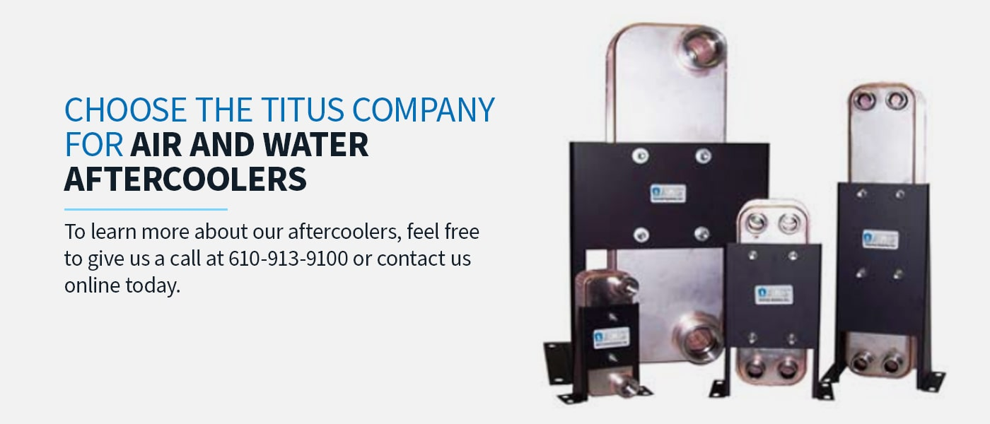 Choose The Titus Company for Air and Water Aftercoolers